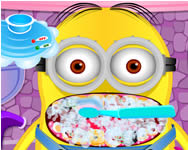 Minion at the dentist online játék